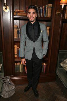 Grey blazer Louis Smith, Esquire, Bespoke, Athlete, Menswear, London, Blazer, Suits, Fall