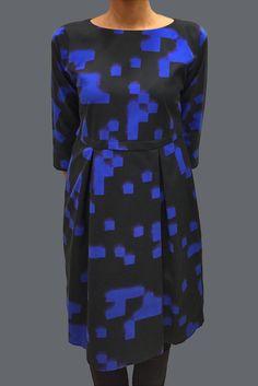 Ritva Falla, one of Marimekko's renowned designers. The Taru Dress. Finland