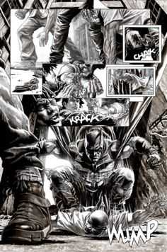 BATMAN BLACK & WHITE - Lee Bermejo