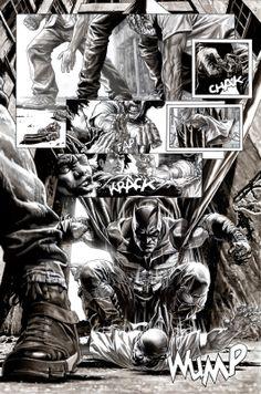 BATMAN BLACK  WHITE - Lee Bermejo