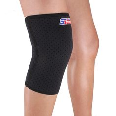 3259ecbf83 Sports Leg Knee Patella Support Brace Wrap Protector Pad Sleeve - Black Knee  Cap, Basketball