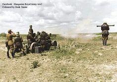 Bofors AA gun, Hungary WW2, pin by Paolo Marzioli