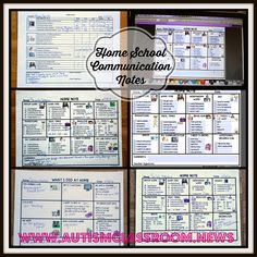 Special Education Home-School Communication: Editable Finding time to write notes to every parent while making sure that students are engaged throughout the day is challenging. Each set (preschool, elementary, secondary) includes prepared illustrated options that each have an editable version, a weekly note (also in editable form) and a note for parents to return. $3 Classroom Procedures, Classroom Behavior, Autism Classroom, Special Education Classroom, Classroom Ideas, Classroom Resources, Resource Room Teacher, Teacher Stuff, School Notes