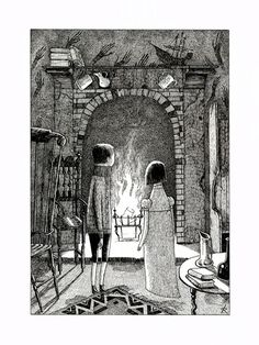 David Roberts: from 'tales of terror from the black ship' by chris priestley ©2008 bloomsbury publishing