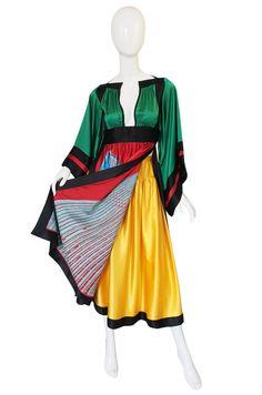 1977   Emanuel Ungaro Haute Couture Tunic & Skirt