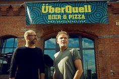 Axel Ohm und Patrick Rüther, Pioniere der Hamburger Craft Beer-Szene, mit ganz neuem Konzept für ein Stück Hamburger Geschichte