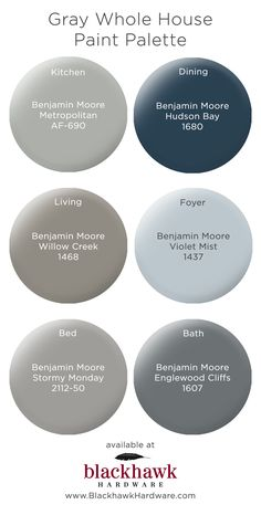 We& in love with these best six gray paint colors by Benjamin Moore The Best. The post The Best Gray Paint Shades by Benjamin Moore appeared first on Bruce Kennels. Best Gray Paint, Blue Gray Paint Colors, Bedroom Paint Colors, Interior Paint Colors, Paint Colors For Home, House Colors, Interior Design, Paint Colours, Gray Color