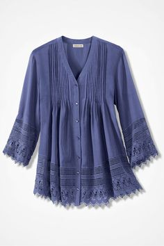764da61c91629 Gracious Lace Blouse - Coldwater Creek Wish I could afford it! Classic  Fashion
