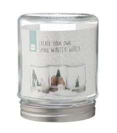 Noël chez HEMA: Boule à neige DIY : 3,25€