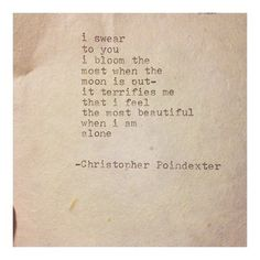 Remington Typewriter Poetry | via Tumblr - image #926783 by korshun on Favim.com #moon