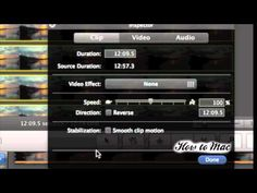 How to Make Timelapse Video using iMovie - Time lapse