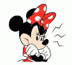 LINE Official Stickers - Minnie Mouse Animated Stickers Example with GIF Animation Mickey Mouse Y Amigos, Mickey Mouse And Friends, Mickey Minnie Mouse, Disney Mickey, Disney Art, Walt Disney, Gif Animé, Animated Gif, Dormir Gif