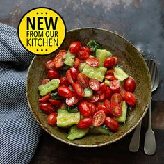 Ina Paarman | Home Baby Tomatoes, Tomato Season, Fruit Salad, Allrecipes, Cucumber, Serving Bowls, Fries, Crushes, Cooking Recipes