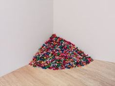 """Candy wrappers are shiny. Holograms are shiny. Imagine candy wrappers as hologram. It would be the shiniest thing on the planet! (Felix Gonzalez-Torres, """"Untitled"""")"""