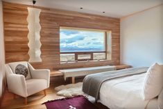 Tierra Patagonia Hotel & Spa in Torres del Paine, Chile /