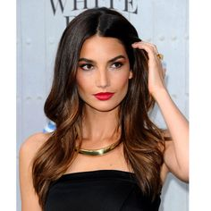 The perfect blow dry for long hair - Learn how to get Lily Aldridge's classic blow dry here. 30 amazing party hair styles and how to recreate them | Stylist Magazine