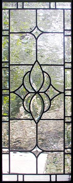 beveled leaded sidelight window by Jack McCoy©