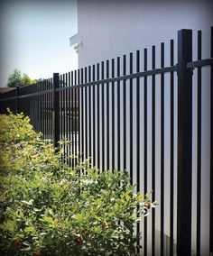 Garden and pool fencing with simple, clean and stylish lines. Aluminium Pool and Boundary Fencing is easy to install and is constructed from long lasting, rust free aluminium that is strong yet light and easy to transport. Building A Swimming Pool, Swimming Pools, Above Ground Pool, In Ground Pools, Aluminum Pool Fence, Aluminium Fencing, Wood Picket Fence, House Fence Design, Pools For Small Yards