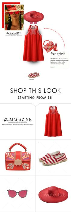 """""""Little red dress"""" by stellina-from-the-italian-glam ❤ liked on Polyvore"""