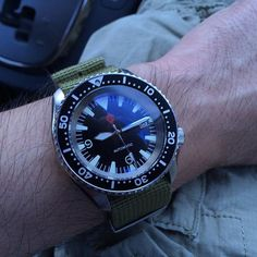 SKX007 big triangle Seamaster 300 mod with Dagaz dial hands and chapter ring plus yobokies sapphire crystal. #womw @wornandwound #wornandwound #watchporn #wristporn #seiko #skx007 #yobokies #motorcitywatchworks #instawatch #dailywatch #wus #natostrap #watchmods #seamaster300 by cubicle38
