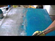 Painting Acrylics Collage Acrylmalerei Speed Painting - YouTube