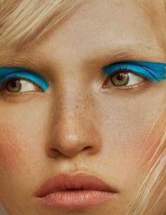 Vogue Germany June 2018 Anja Konstantinova by Elliot & Erick - Fashion Editorials Vogue Makeup, Vogue Beauty, Beauty Make-up, Beauty Shoot, Vogue Tumblr, Makeup Inspo, Makeup Inspiration, Makeup Kit, Makeup Geek