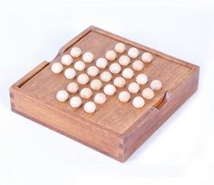 Aliexpress.com : Buy Classic IQ Test Peg Solitaire Solo Noble Puzzles Single Board Wooden Puzzle Game Toy for Adults Kids from Reliable toy boxes for sale suppliers on IQ Toys Kingdom