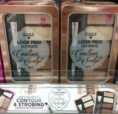 Hard Candy Look Pro! Ultimate Contour & Sculpt Kit ~~#~~ I have not tried this.