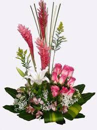 Imagen relacionada Tropical Flower Arrangements, Tropical Flowers, Summer Flowers, Rare Plants, Unusual Plants, Ginger Flower, Ikebana, Church Flowers, Sympathy Flowers