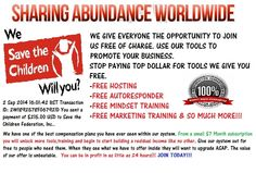 Join for free. Get acquainted with your back office. Use the free auto-responder & Training  to build all of your niches. Free Plr products and so much more!!!