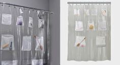 These Heavy Magnetic Shower Curtains Will Minimize The Blow In Effect Order To Stop Your Curtain From Clinging You