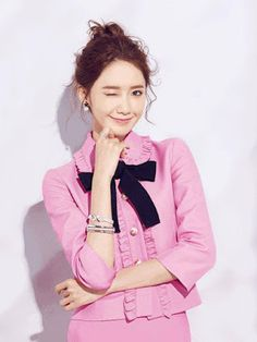 Yoona SNSD Girls Generation Ray Li Fashion and Beauty February 2016