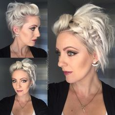 Unique How Should I Do My Hair today Pics Of Hairstyle ideas 42591 - Hairstyle ideas New Year Hairstyle, Headbands For Short Hair, Great Haircuts, Bob Haircuts, Hair Today, Hair Dos, Diy Hairstyles, Short Hair Cuts, New Hair
