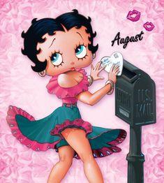 Calendar Club Blog - On This Day (August 9th) - Meet Miss Betty Boop