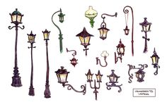 Living Lines Library: Tangled (2010) - Visual Development: Props