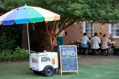 Yup. Food trucks and ice cream carts will be at my wedding...We've done a few. Looks like a trend.