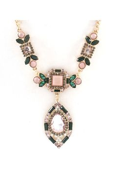 I don't normally like larger jewelry these days as far as necklaces go but this would be pretty with the right sweater.