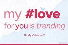A social Media Valentine. Happy Valentine's Day!