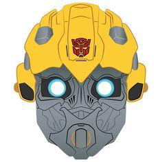 Transformer Costume, Transformer Birthday, Bumble Bee Transformer Cake, Bumblebee Transformers, Printable Halloween Masks, Mario Crafts, Transformers Birthday Parties, Halloween Crafts For Toddlers, Birthday Themes For Boys