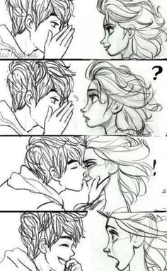 """Im so confused do I like Elsa X Jack  or  Jack X Rapunzel ADFGHJKL:"""""""