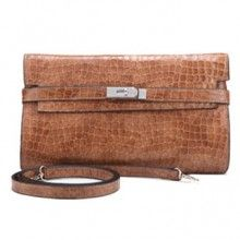 womens leather blue / coffee clutch handbag-leather womens clutch handbags