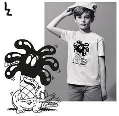 Lacoste escolheu Steven Harrington para a sua coleção infantil