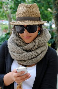chunky infinity scarf » kailaniskorner.com