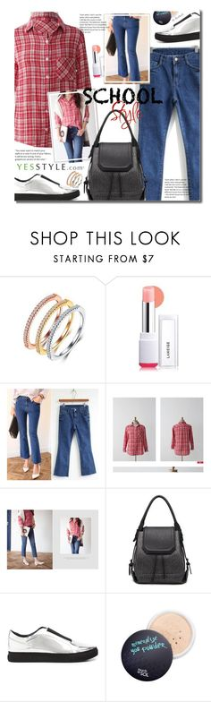 """YesStyle - Spring School Style"" by beebeely-look ❤ liked on Polyvore featuring Zundiao, Laneige, Seoul Fashion, MASoeur, UN United Nude, Spring, BackToSchool, springfashion and yesstyle"