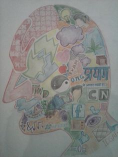 whats in my mind? - Creative Art in Sketching by Abhinandan Pandey at Touchtalent