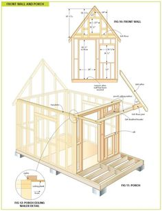 free wood cabin plans: