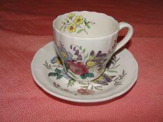 "Spode ""Gainsborough"" (Marlborough) Demitasse Cup w/saucer"
