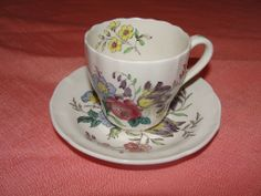 "Spode ""Gainsborough"" (Marlborough) Demitasse Cup w/saucer"