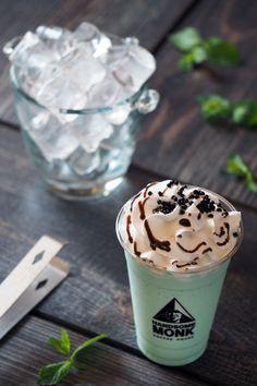 Mint Creamy Cooler Pudding, Mint, Tableware, Desserts, Food, Tailgate Desserts, Dinnerware, Deserts, Custard Pudding