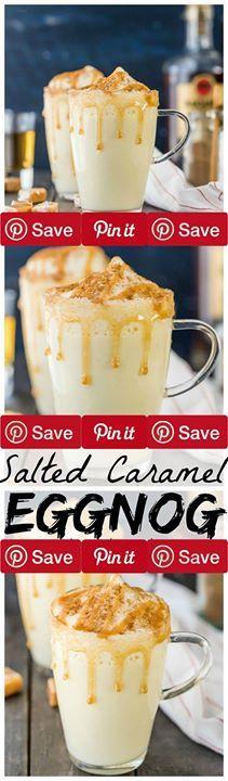 Eggnog 15, Caramel Eggnog, Cup Caramel, Caramel Syrup, Salted Caramel ...